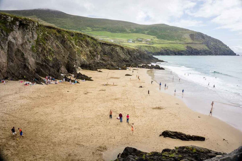 image of Coumeenoole Beach on Dingle Peninsula
