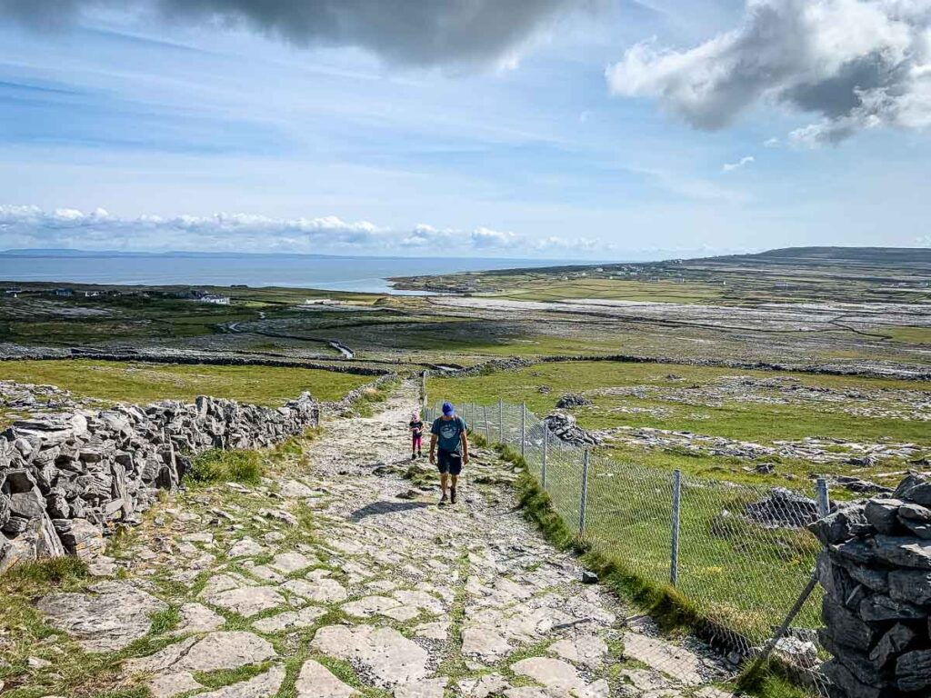 image of landscape on Inishmore, Aran Island Ireland
