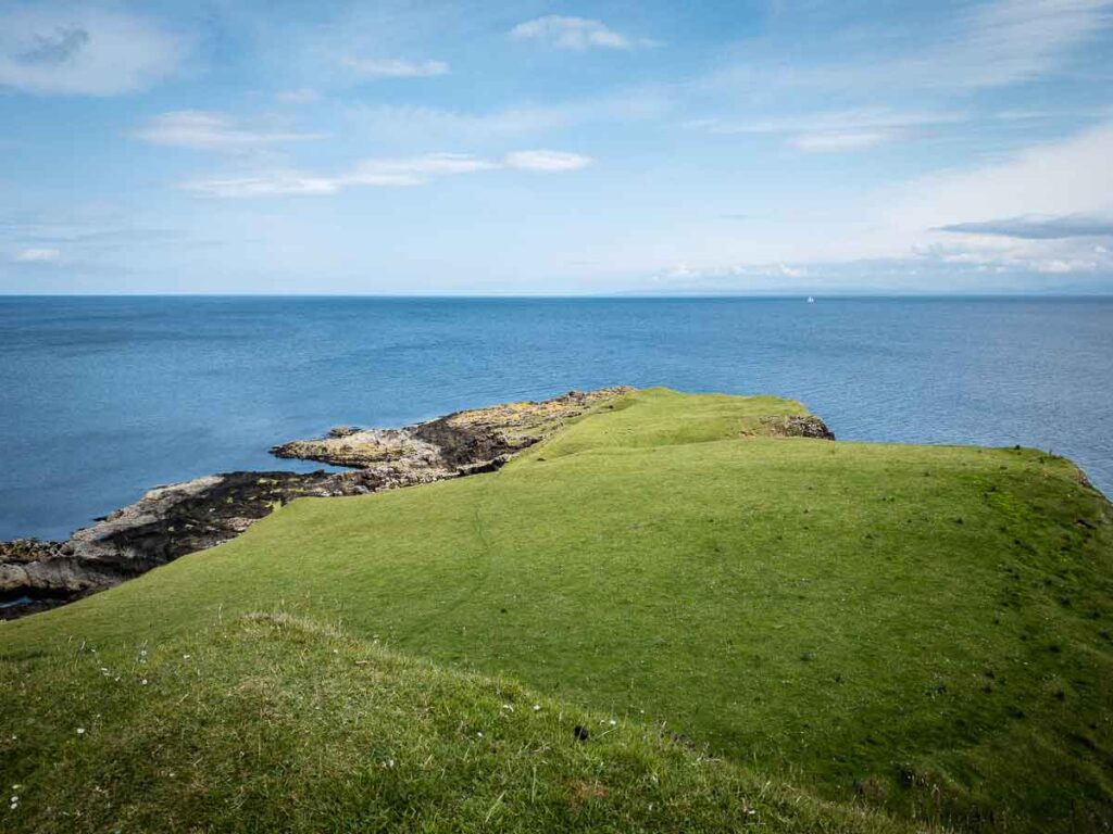 image of the last part of the peninsula on the Brother's Point hike on Isle of Skye