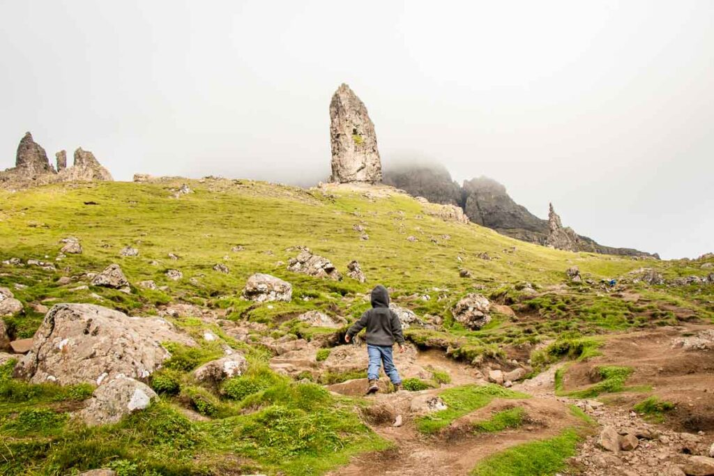 image of the isle of skye old man of storr