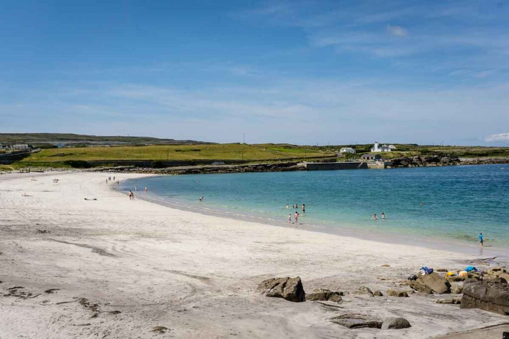 Image of Kilmurvey Beach on Inishmore