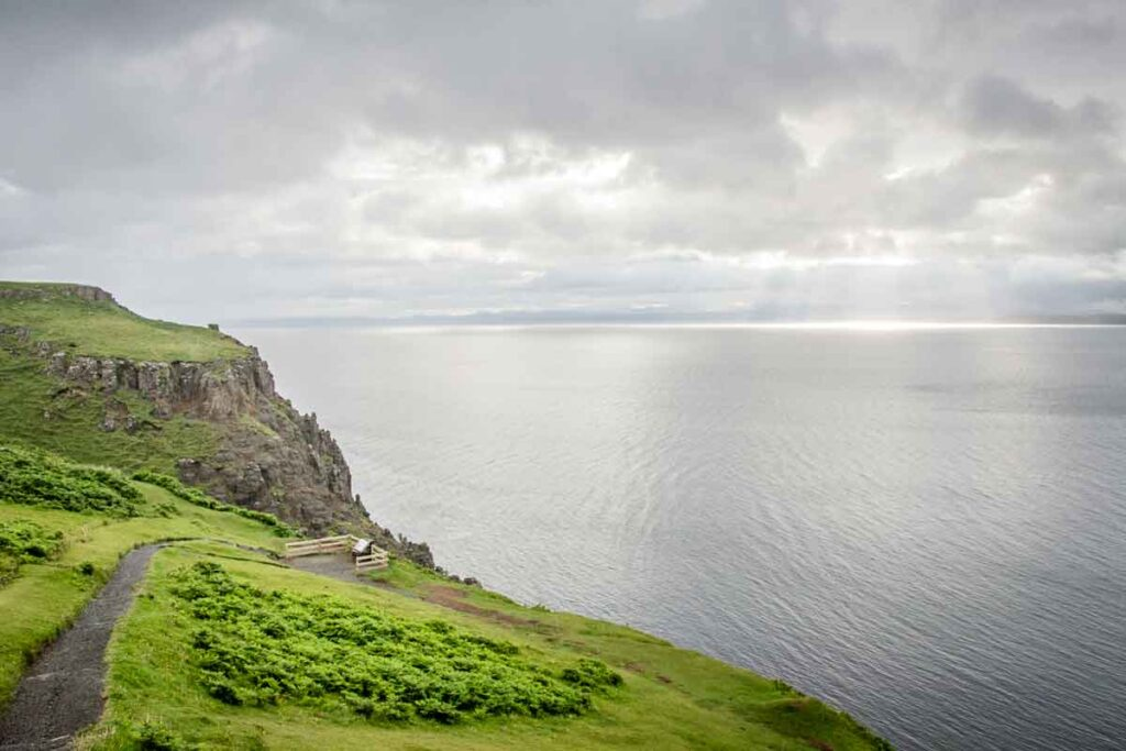 image of viewpoint on Isle of Skye