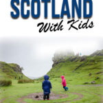 The Isle of Skye is one of the best places to visit in Scotland. Here's everything you need to know to plan your trip to the Isle of Skye with kids. #isleofskye #isleofskyeitinerary #scotlandwithkids