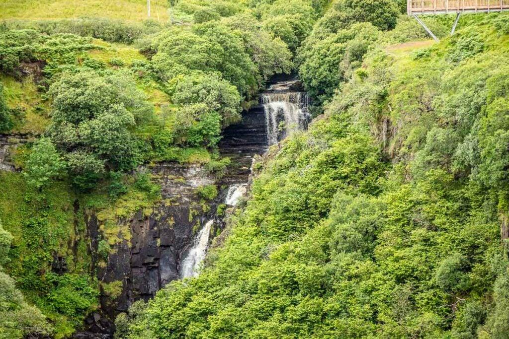 image of Lealt Falls on Isle of Skye
