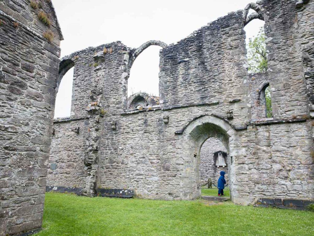 image of Inchmahome Priory in Scotland