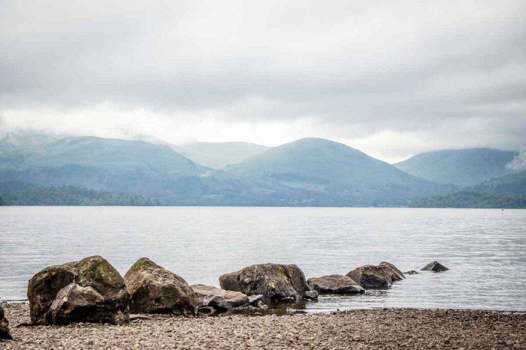 image of Loch Lomond in Scotland
