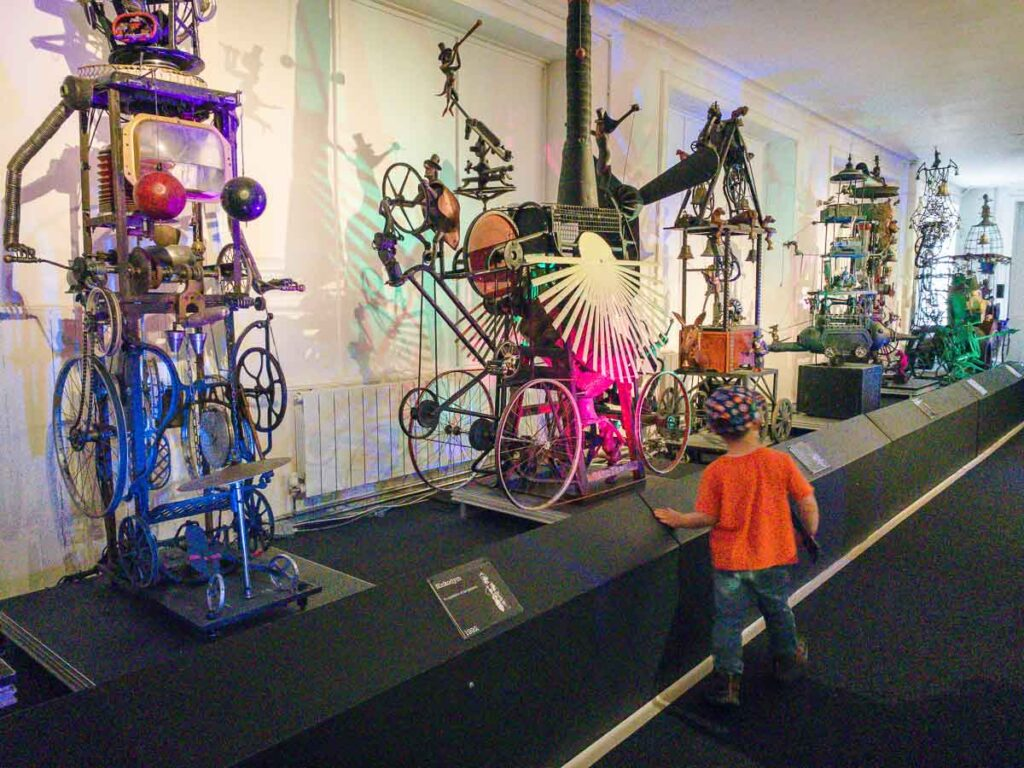 image of boy at Sharmanka Kinetic Theatre in Glasgow