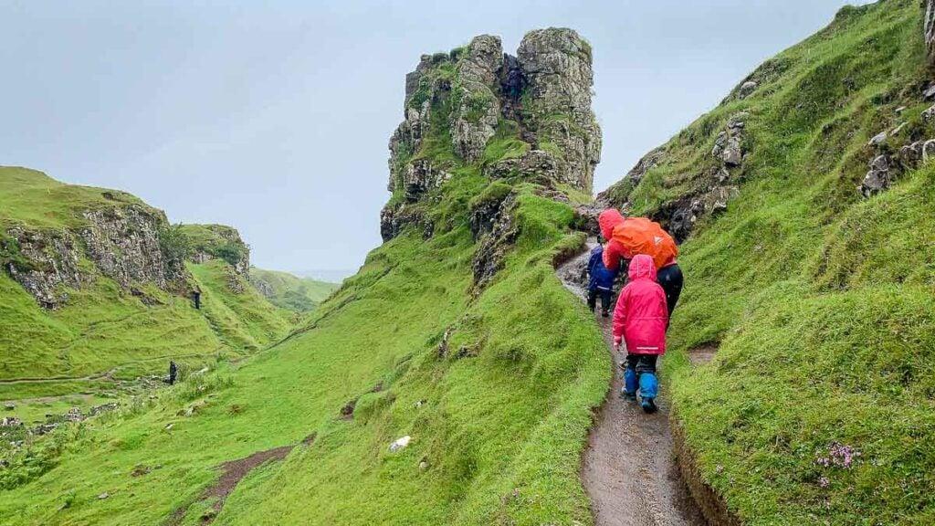 image of the Fairy Glen on Isle of Skye