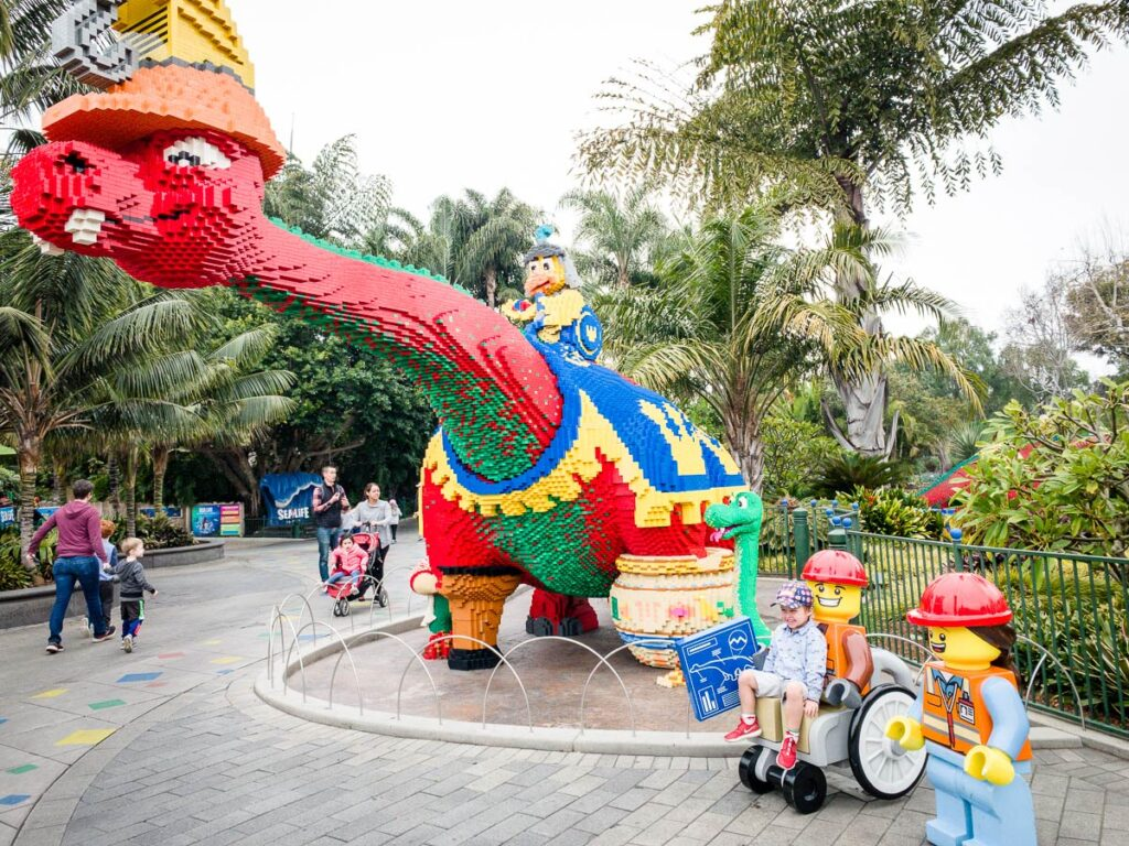 image of boy at Legoland California