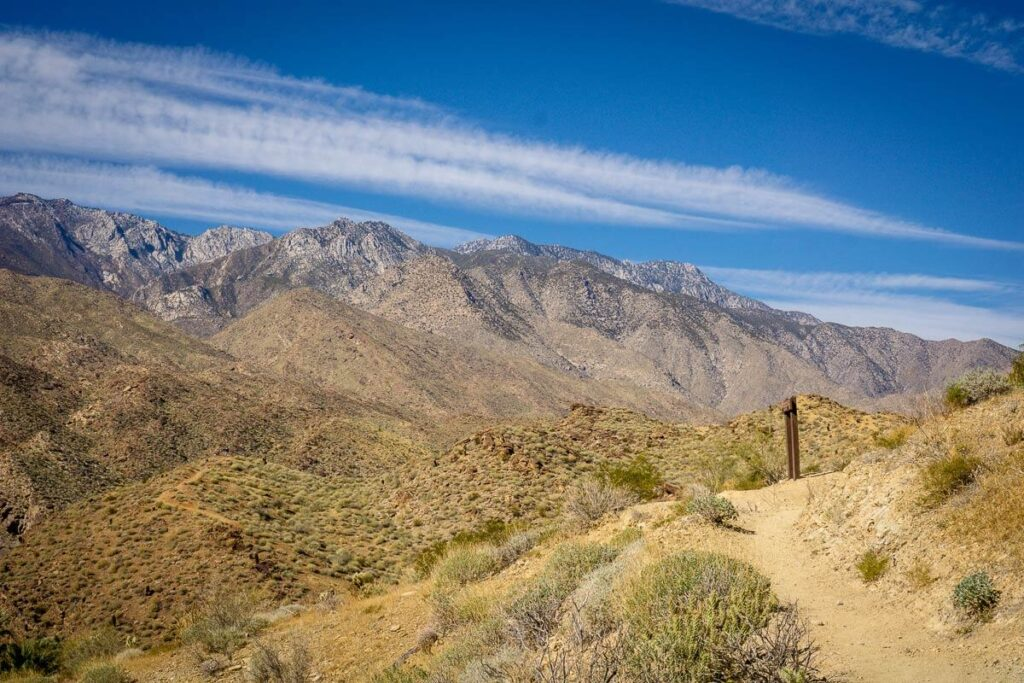 image of hikes near palm springs ca