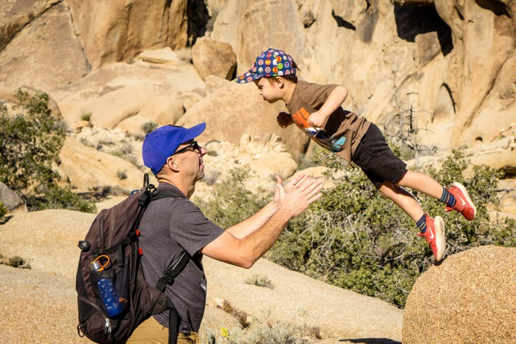best time to go to Joshua Tree NP with kids