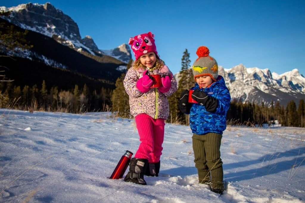 cold weather hiking gear for kids