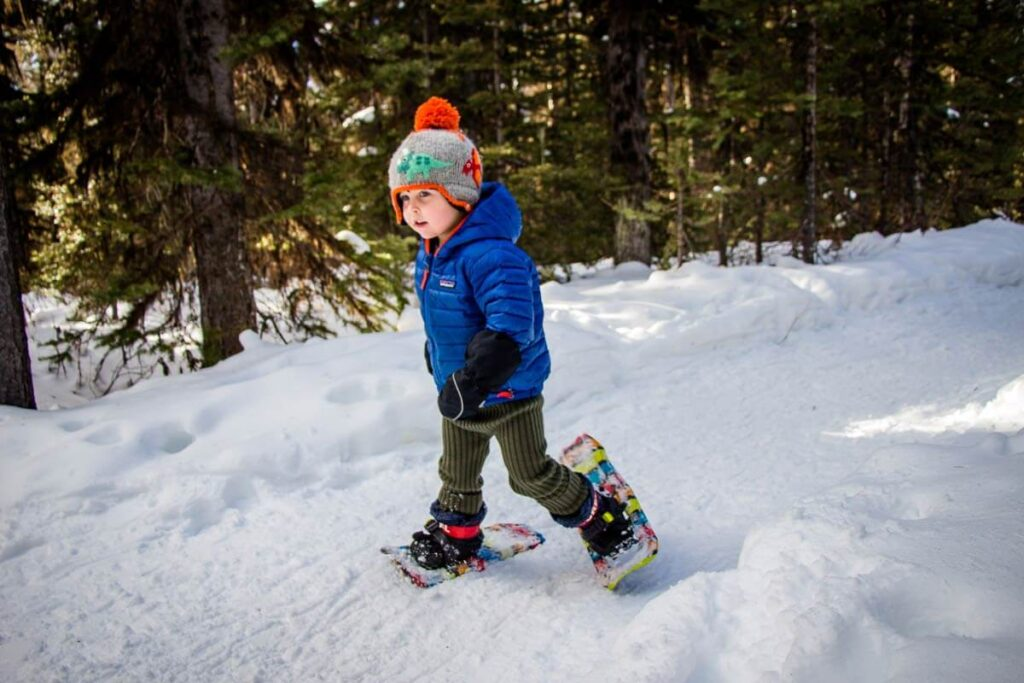 snowshoes are one of the best gift ideas for outdoorsy kids