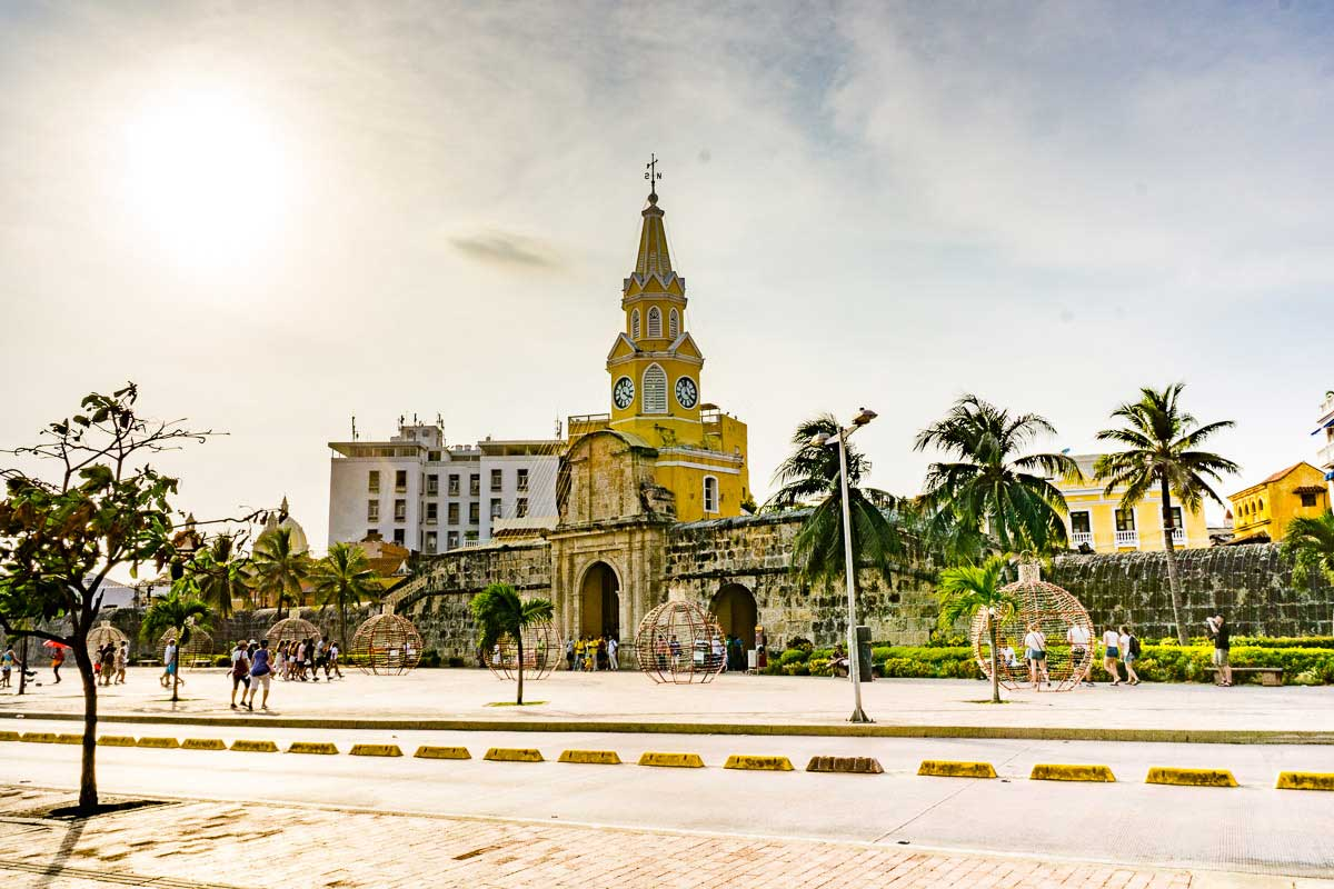 Cartagena Clock Tower Monument - Monumento Torre Del Reloj