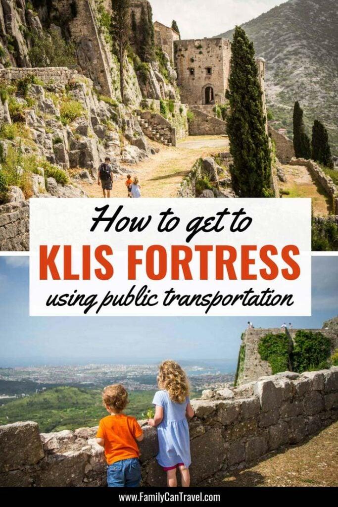 Getting to Klis Fortress from Split Croatia