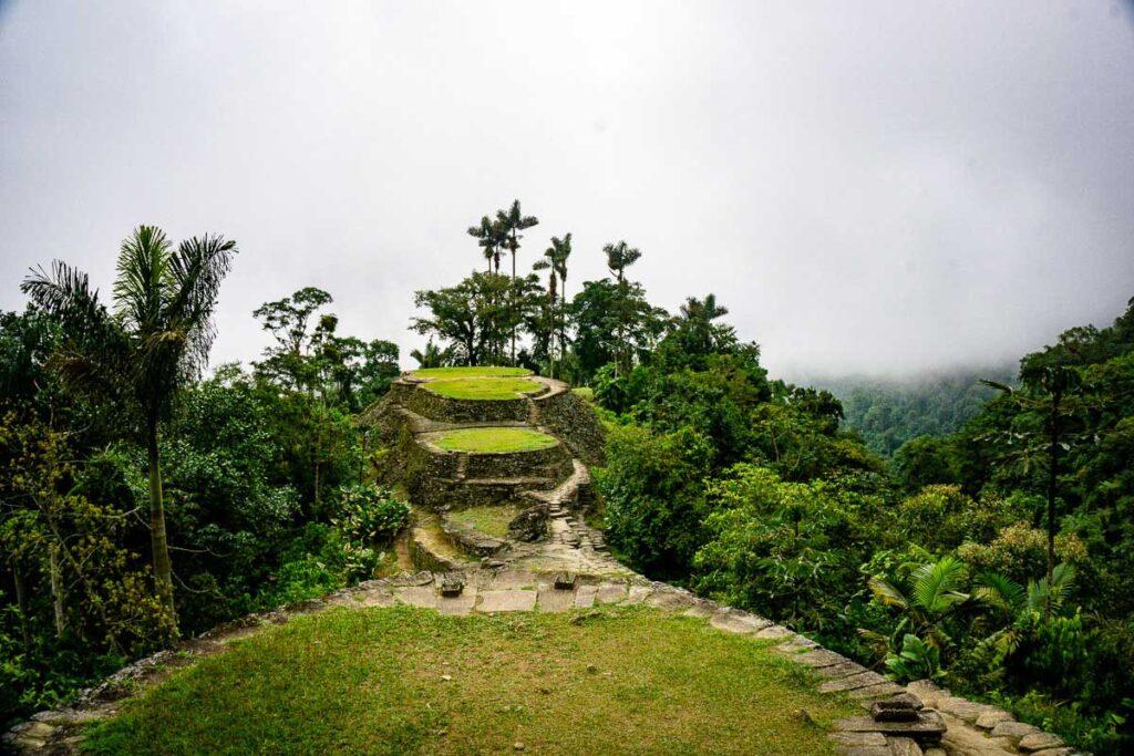 the famous Ciudad Perdida archaeological site