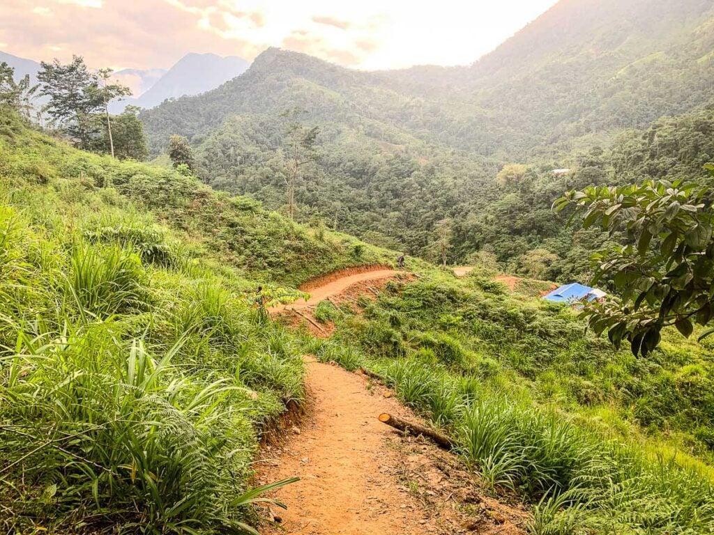 the Ciudad Perdida trail was virtually free of garbage
