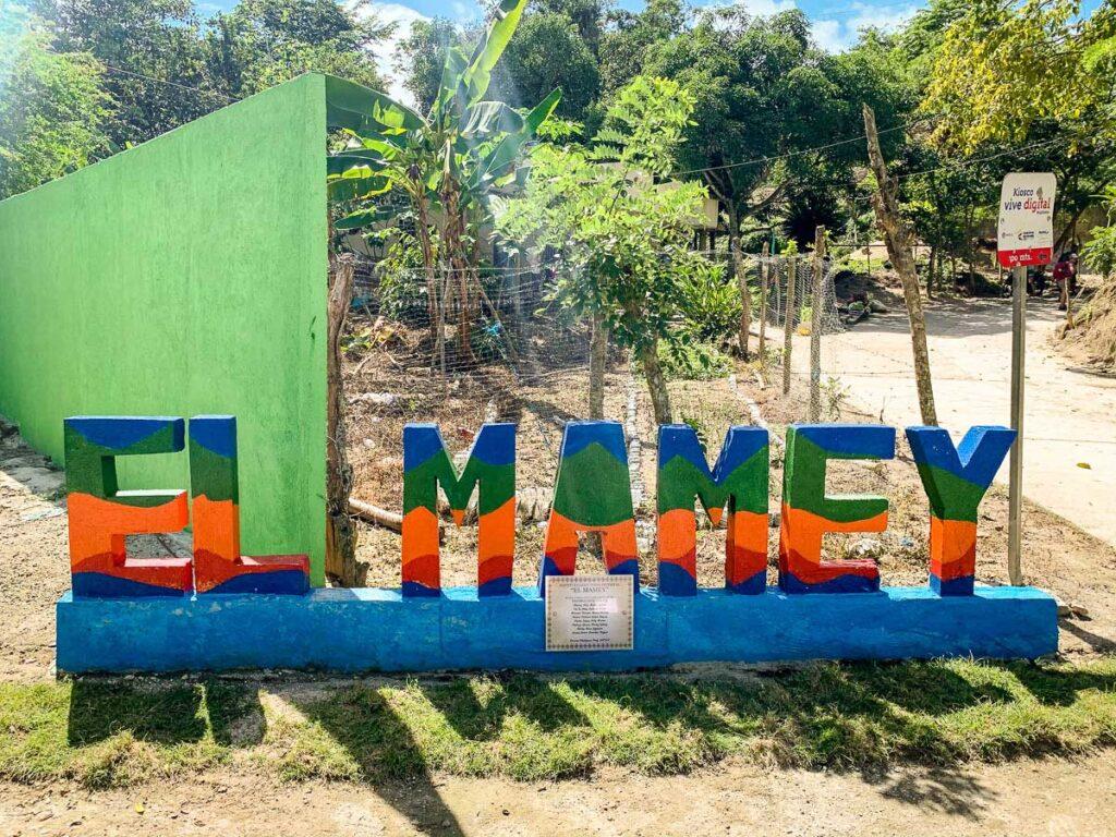 The Lost City trek begins in the Sierra Nevada village of El Mamey, Colombia