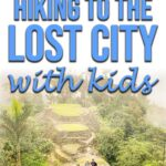 Hiking to the Lost Cith with Kids
