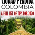 Trek to Ciudad Perdida Colombia