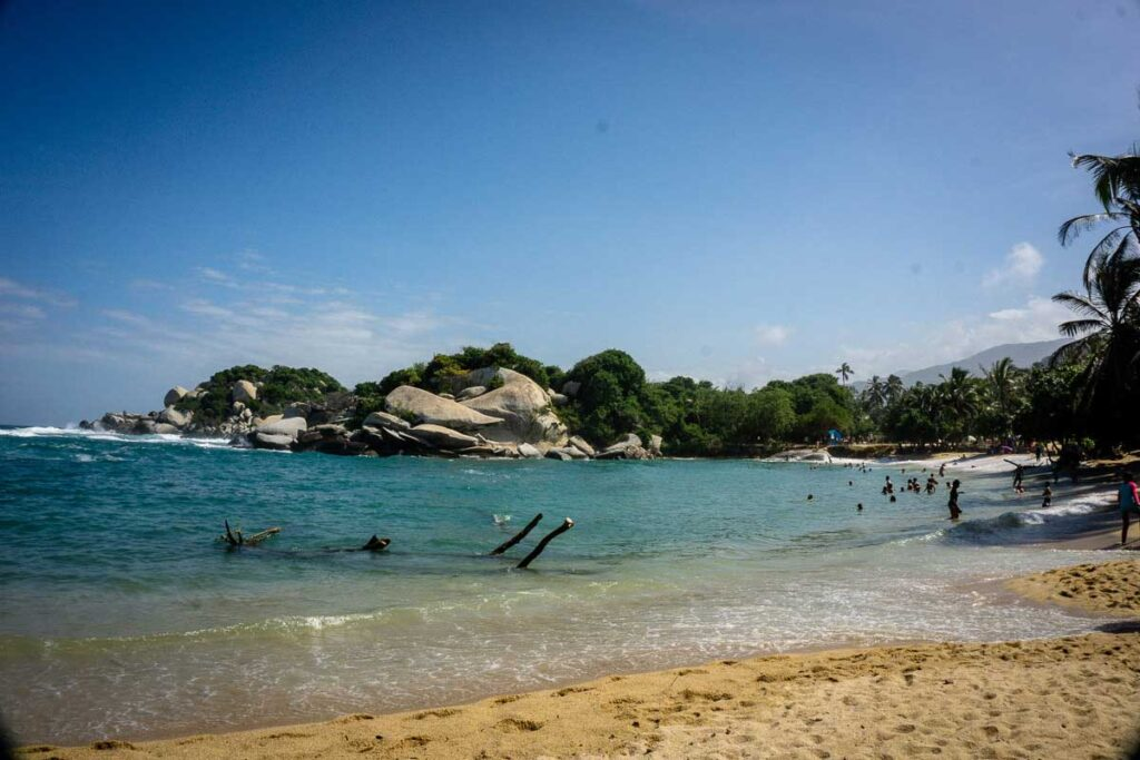The hike to Cabo San Juan in Tayrona National Park is so worth it