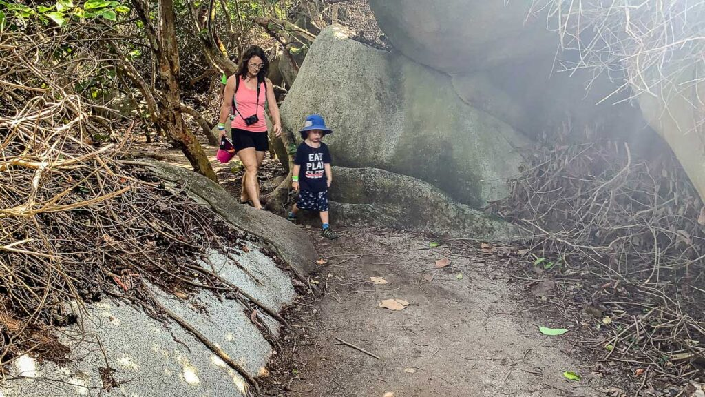 We recommend hiking sandals for the hike to Cabo San Juan in Tayrona National Park, Colombia