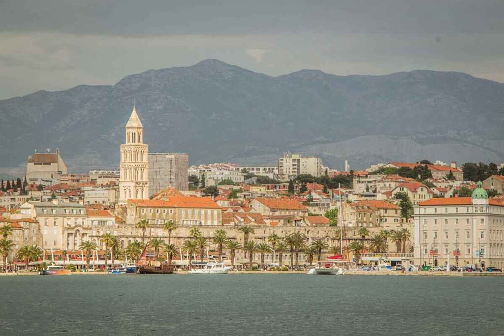 Split is one of the best places to visit in croatia with kids