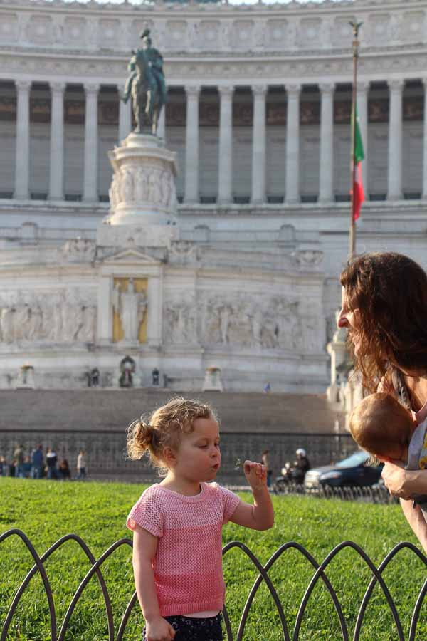 It's easy to find things to do with kids in Rome