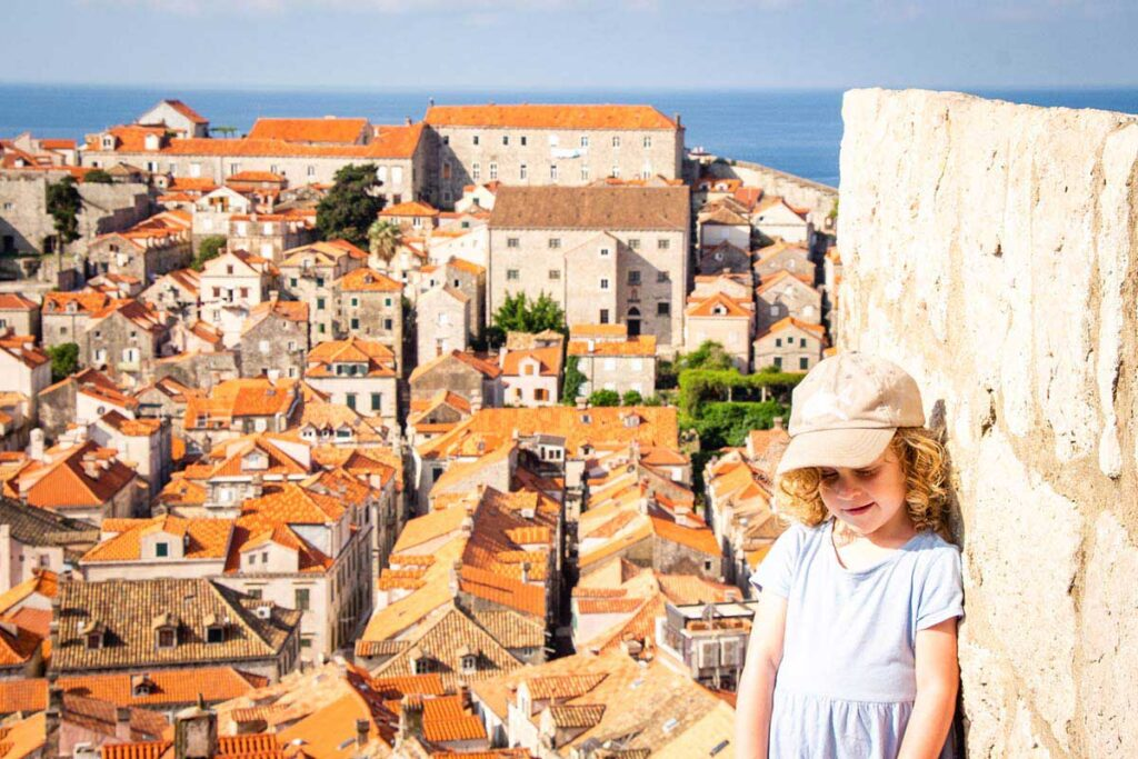 Walking the Dubrovnik City Walls with Kids - Best things to do in Dubrovnik with Kids