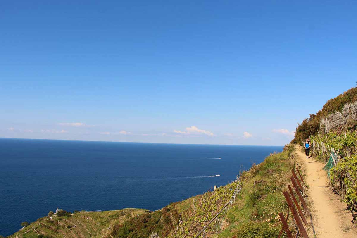 Hiking Cinque Terre with Kids is an amazing thing to do on a family vacation to Italy