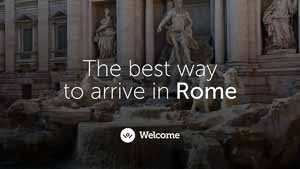 The best way to get to Rome from the Rome airport