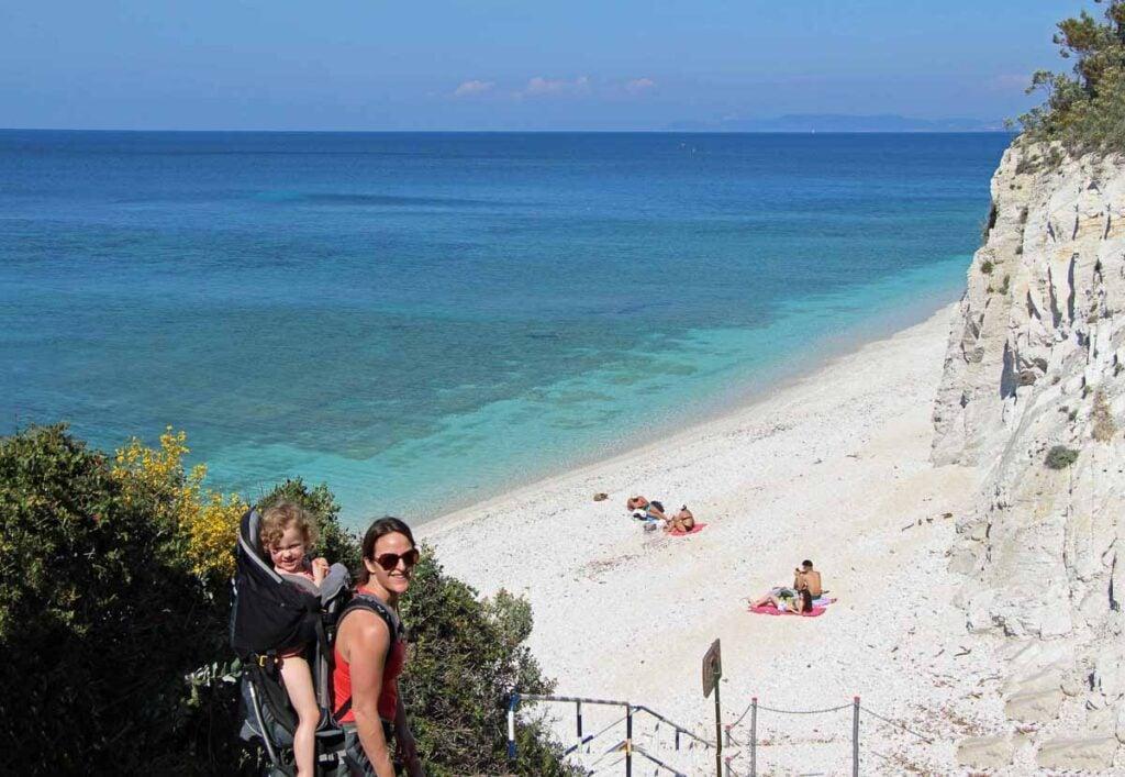 Incredible Mediterranean colors on the beaches of Elba Island