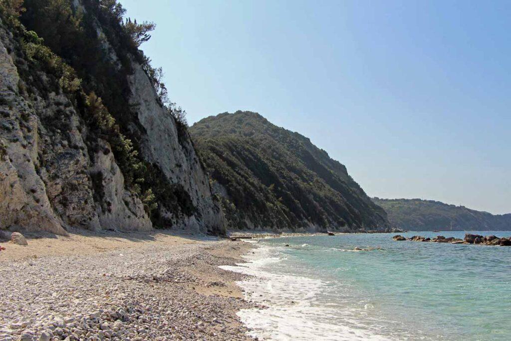 beautiful scenery at the Portoferraio beaches