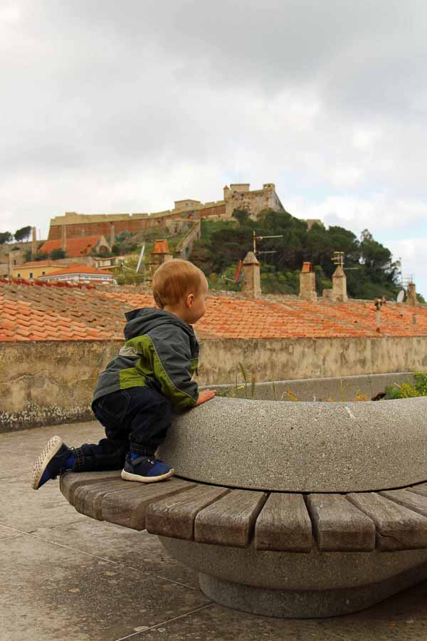 Entertaining kids in Italy can be as easy as letting them play in a plaza