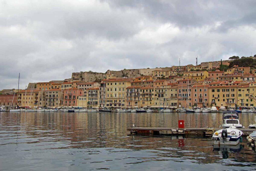 Portoferraio, Italy harbor