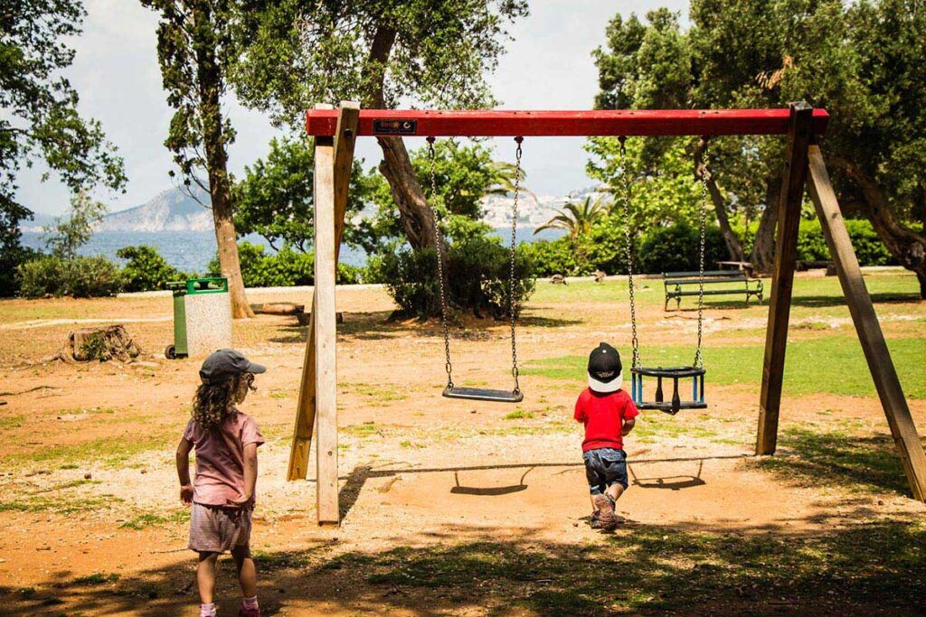 Playground on Lokrum Island - Best things to do with Kids in Dubrovnik