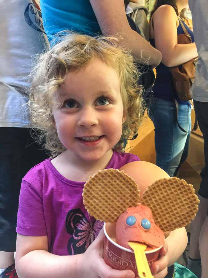 Frigidarium has the best gelato in Rome - they make special gelato for the kids
