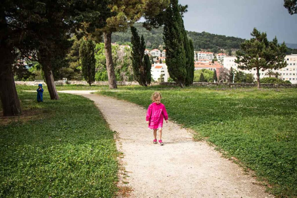 Sustipan Park in Split - What to do in Split with kids