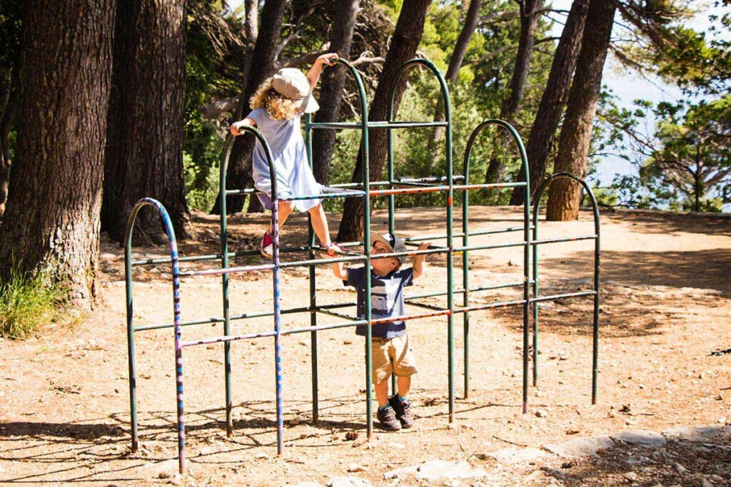 Playground in Dubrovnik - things to do in Dubrovnik for kids