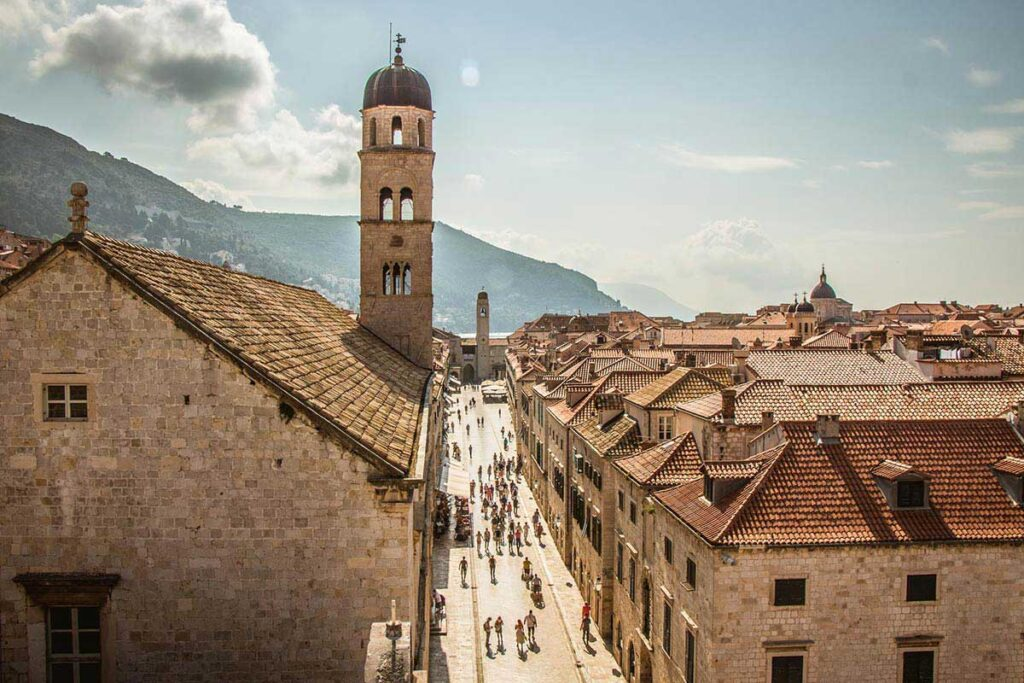 View of Dubrovnik from the City Walls - Dubrovnik Things to do with Kids