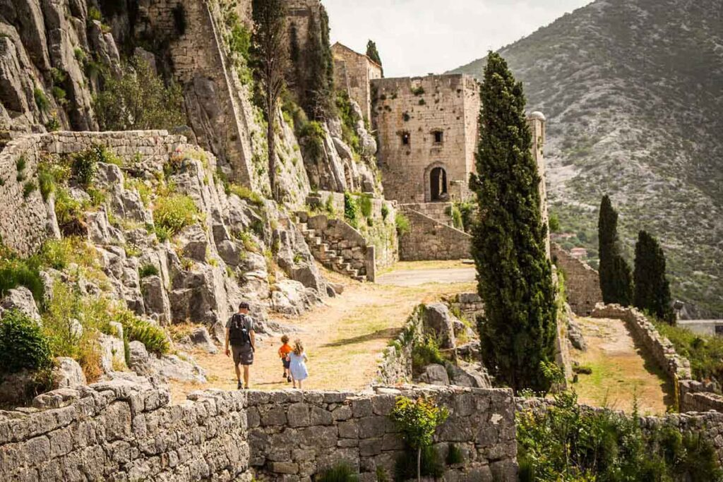 Klis Fortress with Kids in Split