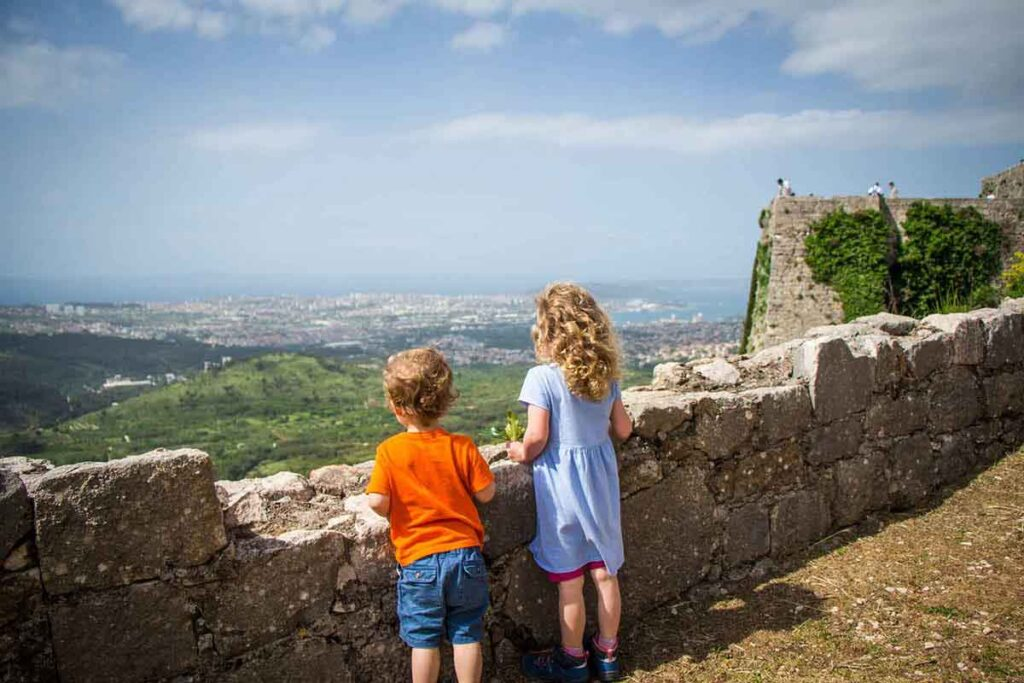 Klis Fortress - best day trip from Split with kids