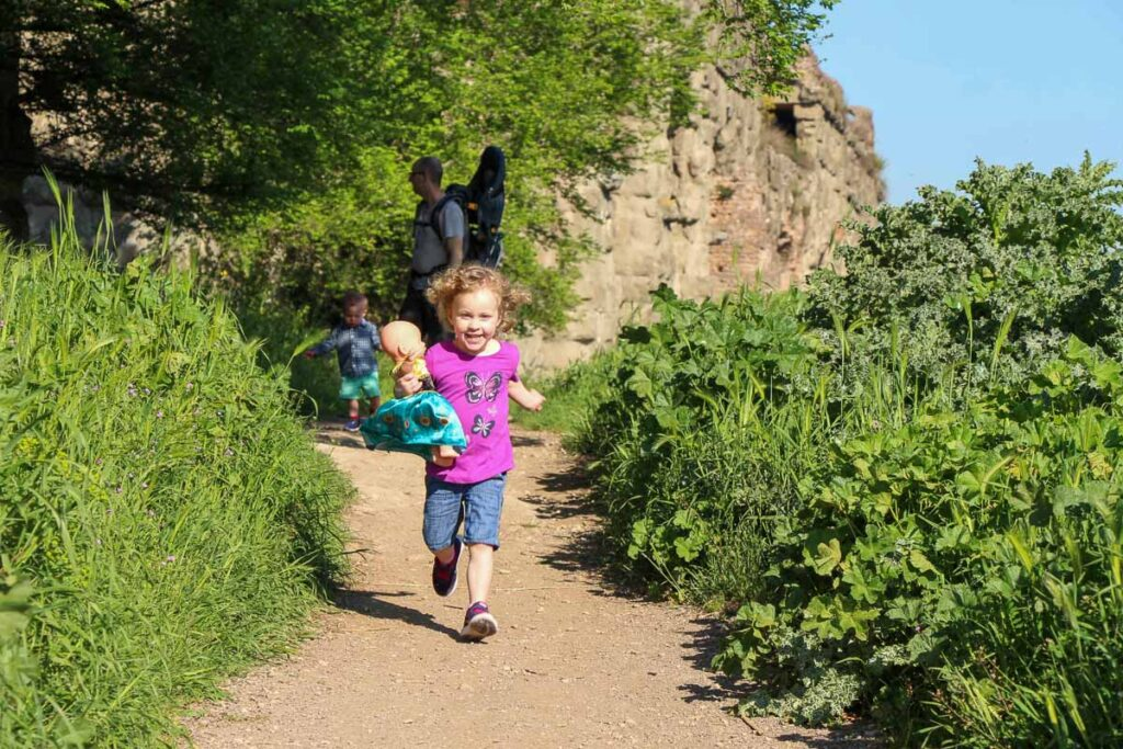 Any Rome with toddlers itinerary should include a visit to the Aqueduct Park