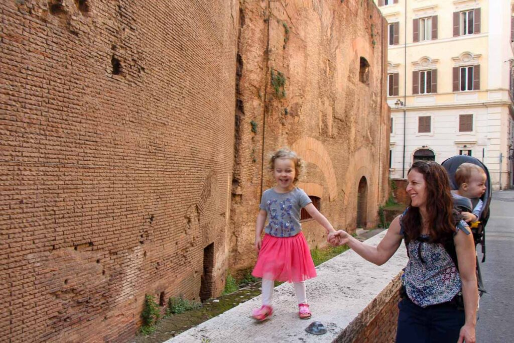 You don't need to look far to find things for kids to do in Rome, Italy - Pantheon for kids