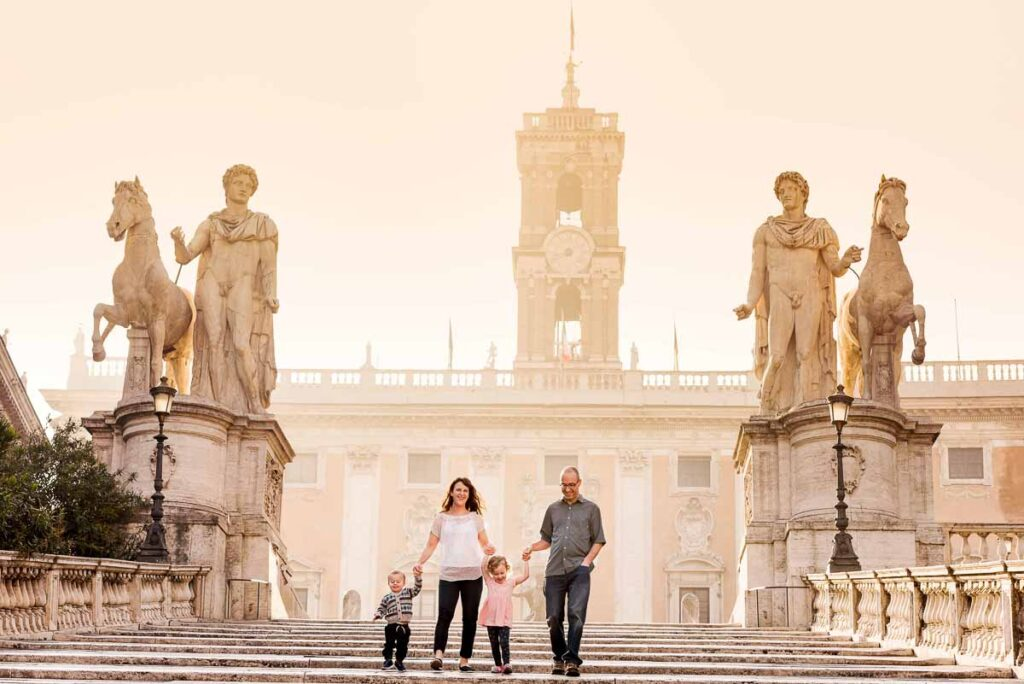 Our professional photos of our family vacation to Rome Italy are some of our prized posessions - photo by Jake and Dannie