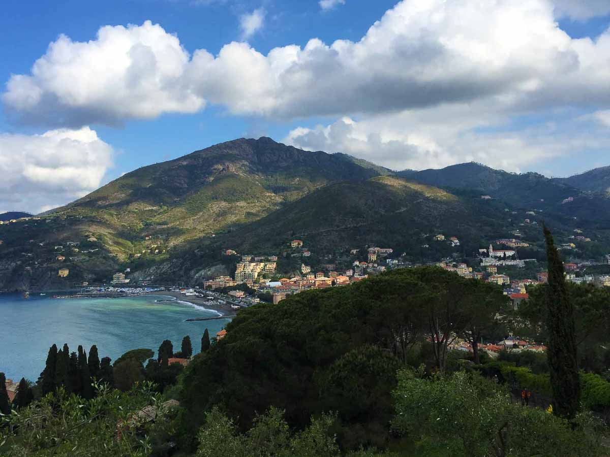 Beautiful Levanto, Italy is home to easy, kid-friendly fun Cinque Terre cycling