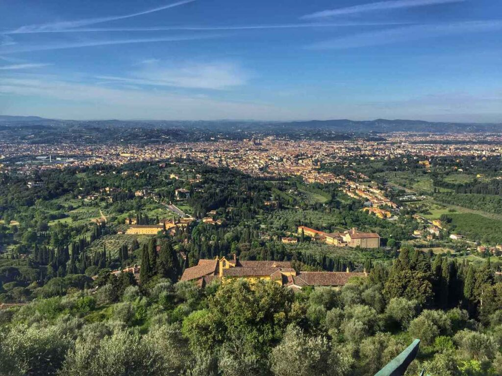 wondering what to do in florence with kids? Try a day trip to Fiesole for some easy hikes
