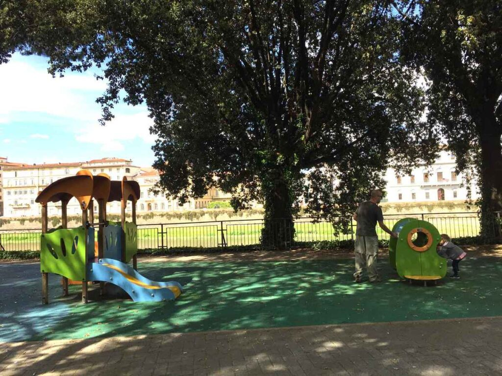 Florence playgrounds are hard to find