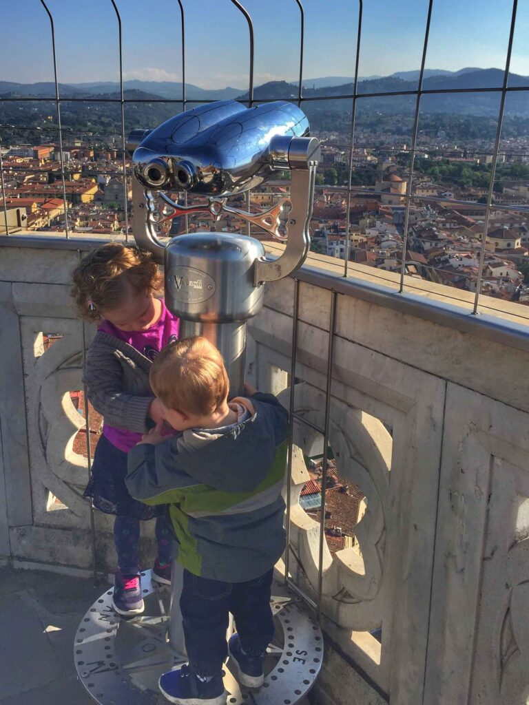 things to do with kids in florence - kids always find their own fun