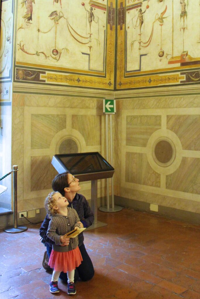 Palazzo Vecchio has many fun things to do with kids in florence